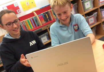 Belsay School Engages, Enriches & Inspires Learning During Lockdown with Asus Chromebooks